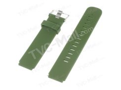 Силиконовые ремешок ремешок с стальной пряжкой для Huawei часы - зеленый