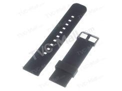 Силиконовый Ремешок Для Часов С Металлической Застежкой Для Зубчатой передачи 2 R380 / или время / Для LG G часы w110 пришел Ш100 / Asus Zenwatch - черный