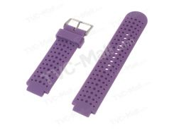 Silicone Watch Wristband for Garmin Forerunner 220 230 235 630 620 735XT with Pins  Tools - Purple