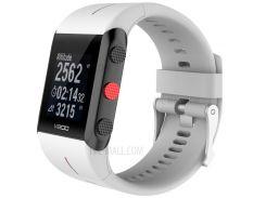 Мягкие Силиконовые Наручные Часы Замена Ремешок Для Polar Устройство V800 GPS Спортивные Часы - белый