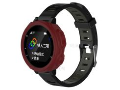 Anti-aging Soft Silicone Protective Shell for Garmin Forerunner 235 / 735 - Wine Red