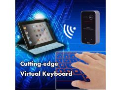 Мини-беспроводная Виртуальная Клавиатура Bluetooth И Мышь - Черный