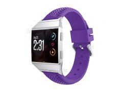 Для Fitbit Ионной Прохладной Шины Спортивной Силиконовой Браслет Ремень Браслет Замена - Пурпурный