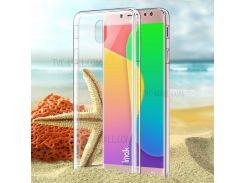 IMAK Crystal Case II Для Галактики Samsung J5 (2017) EU / Версия Для Азии / Прочная Прозрачная Прозрачная Прозрачная Прозрачная Пробка J5 Pro