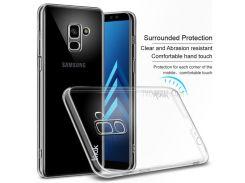 IMAK Crystal Case II Pro Для Samsung Galaxy A8 Plus (2018) Устойчивый К Царапинам Прозрачный Корпус Для ПК С Обратной Связью