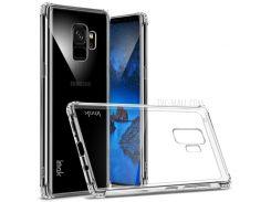 IMAK Anti-drop Гибкая Оболочка Корпуса Мобильного Телефона TPU Для Галактики Samsung S9 - Прозрачный