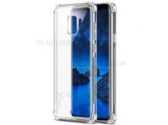 IMAK Для Samsung Galaxy S9 G960 Кожаная Подушка Безопасности Для Защиты От Ударов - Прозрачный