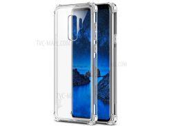 IMAK Кожа Подушка Безопасности Противоударная Оболочка Корпуса Мобильного Телефона TPU Для Галактики Samsung S9 + G965 - Прозрачный