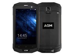 AGM A8 IP68 Водонепроницаемый Ударопрочный 5.0-дюймовый Android 4-мегагерцовый 4G-смартфон 3GB + 32GB