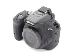 Для Фотокамер Nikon D5500 D5600 Для Мягкой Силиконовой Защитной Оболочки - Черный