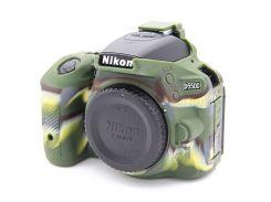 Мягкий Силиконовый Защитный Чехол Для Фотокамер Nikon D5500 D5600 - Камуфляж