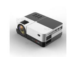 H2 Портативный Проектор С Высоким Разрешением 2800 Люмен ЖК-проектор С HD USB AV VGA 3,5-миллиметровый Порт - ЕС