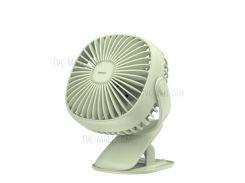 Регулируемый Теплый Свет BASEUS 360-градусный Поворотный Охлаждающий Вентилятор - Зеленый
