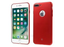 KINGXBAR 0.6mm Smooth Plastic Shell for iPhone 8 Plus / 7 Plus - Red