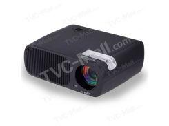 UHAPPY U20 Pro 2600LM 1080P Home Theater 800x480 Mini Projector - Black