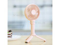 BENKS F12 3350mah Мини-многофункциональный Портативный USB-вентилятор С Охлаждающим Вентилятором С 3-мя Регулируемыми Скоростями - Розовый