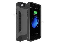 Ударопрочный Корпус Зарядного Устройства Внешний Аккумулятор Для Iphone 7/6 / 6s - Черный
