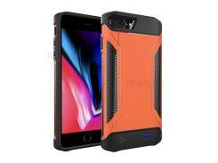 Съемный Ударопрочный Зарядное Устройство Для Батарейного Отсека Внешняя Батарея Для Iphone 8 Плюс / 7 Плюс / 6 Плюс / 6 С Плюс - Оранжевый