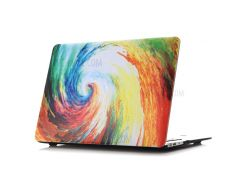 Oil Painting Pattern Hard PC Phone Case for Macbook Air 13.3 Inch (A1369/A1466) - Whirlpool