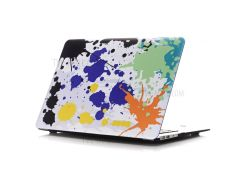 Oil Painting Pattern Hard PC Protective Cover for Macbook Air 13.3 Inch (A1369/A1466) - Colored Splash Painting