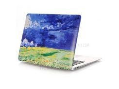 Картина маслом Pattern Жесткий PC защитный чехол для MacBook Air 13.3 дюйм(A1369/A1466) - Пшеничные поля под грозовыми тучами