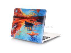 Картина маслом Pattern жесткого пластика Обложка для MacBook Air 13,3 дюйма (A1369 / A1466) - Море и лодка