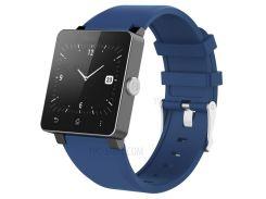 Регулируемая Замена Ремня Для Ремня Безопасности TPE Для Sony Smartwatch 2 SW2 - Синий