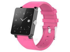 Регулируемая Замена Ремешка Для TPE Для Sony Smartwatch 2 SW2 - Розовый