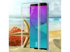 IMAK Crystal Case II Для Галактики Samsung A6 (2018) Устойчивый К Царапинам Прозрачный Прозрачный Жесткий Чехол