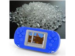 HKB-503 2-дюймовый Цветной Экран Детей Классический Игровой Плеер Встроенный 268 Игр - Темно-синий
