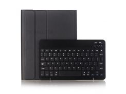 Съемная Клавиатура Bluetooth 3.0 Кожаный Чехол С Ручкой Для Ipad Pro 10,5 Дюймов (2017) - Черный