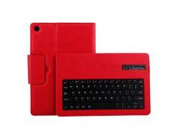 Красный - Съемная Клавиатура Bluetooth Litchi Кожаный Чехол Для Huawei Mediapad M5 10 / M5 10 (pro)