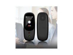 T6 Интеллектуальный Речевой Переводчик Поддерживает 41 Многоязычный 2,4-дюймовый Смарт-сенсорный Экран Wifi 4G-переводчик - ЕС
