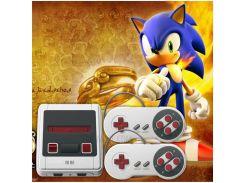 Супер Мини-MD 16-бит 2 Игровой Джойстик Игровая Развлекательная Система Со Встроенными Предустановленными 167 Играми - ЕС