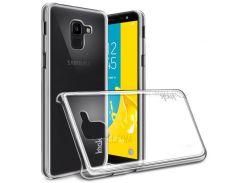 IMAK Crystal Case II Устойчивый К Царапинам Корпус ПК + Защитная Пленка Для Галактики Samsung J6 (2018) J600F J600G