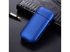 Жесткий Пластиковый Глянцевый Чехол Для Защиты От Сигарет E Для Электронной Сигареты IQOS 2.0 / 2.4 - Синий