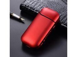 Жесткий Глянцевый Защитный Чехол ПК Для Электронной Сигареты IQOS 2.0 / 2.4 - Красный