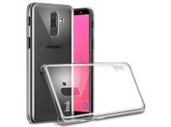 IMAK Crystal Case II Устойчивый К Царапинам Прозрачный Корпус Для ПК + Защитная Пленка Для Samsung J8 (2018)