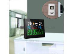 Температура Влажность Беспроводной Прогноз Погоды Станция Сигнализация И Отсрочка Термометр Гигрометр Часы - ЕС