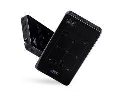 P09 Портативный Проектор D7 Android 6.0 Wifi Bluetooth 4.0 4K HDMI-проектор DLP 2GB + 16GB - Американская Вилка