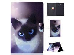 Модельная Стойка Для Печати Кожаный Чехол Для Samsung Galaxy Tab A 10.5 (2018) T590 T595 - Кот