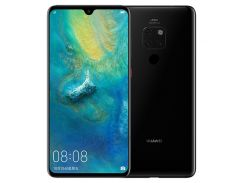 HUAWEI Mate 20 (HMA-AL00) 6,53-дюймовый Кирин 980 Октановое Ядро EMUI 9.0.0 4G Смартфон 6 ГБ + 128 ГБ - Черный