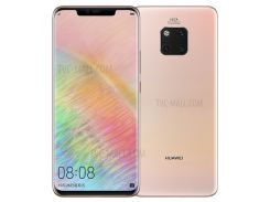 HUAWEI Mate 20 Pro (ud) (lya-al00) 6,39-дюймовый Окта-сердечник Kirin 980 EMUI 9.0.0 4G Смартфон 8GB + 256GB - Розовое Золото