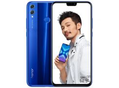 HUAWEI Honor 8X (JSN-AL00) 6 ГБ + 128 ГБ 6,5-дюймовый Смартфон С 8-дюймовым Октановым Ядром Kirin 7G - Синий