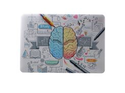 Жесткий Чехол Для Ноутбука MacBook Air 13.3 A1369 С Рисунком / A1466 - Анализ Мозга