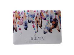 Обложка С Рисунком Для Ноутбука MacBook Air 13.3 A1369 / A1466 - Кулон Из Перьев