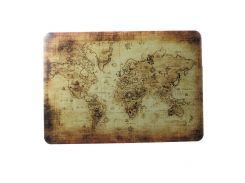 Пластиковая Защитная Крышка С Рисунком Для MacBook Air 13,3 A1369 / A1466 - Карта