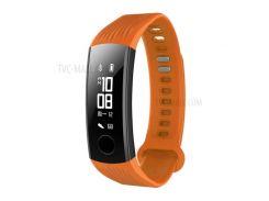 Регулируемый Силиконовый Браслет Для Замены Для Huawei Honor Band 3 - Оранжевый