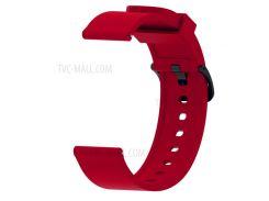 20мм Мягкий Силиконовый Ремешок Для Часов Для Умных Часов Amazfit Bip - Красный