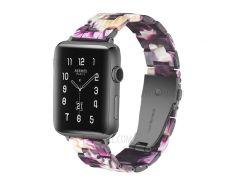 Ремешок Для Часов Из Дышащей Смолы Для Часов Huawei GT / Часы 2 Pro / Samsung Gear S3 Frontier / Gear S3 Classic - Пурпурный